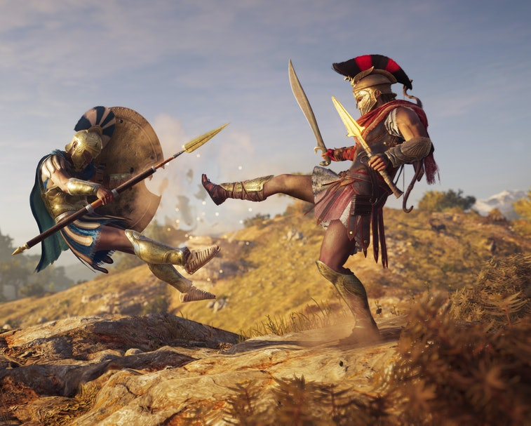 Press image from Assassins Creed Odyssey, the 11th installment in the series
