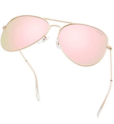 livho Polarized Aviator Sunglasses