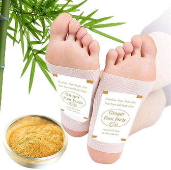TEWEAE Stress Relief Foot Pads (60 Pack)