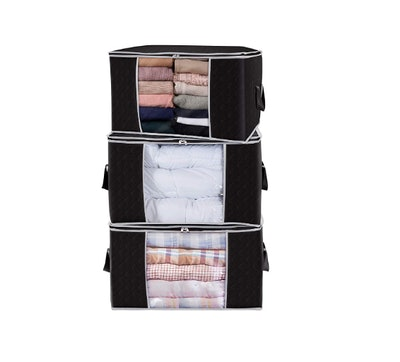 Lifewit Storage Bag Organizer (3-Pack)