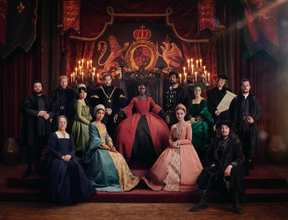 Anne Boleyn Channel 5 Jodie Turner Smith Costumes