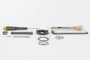 Industrial designer Finn Magee redesigned the classic Casio F-91W digital watch.