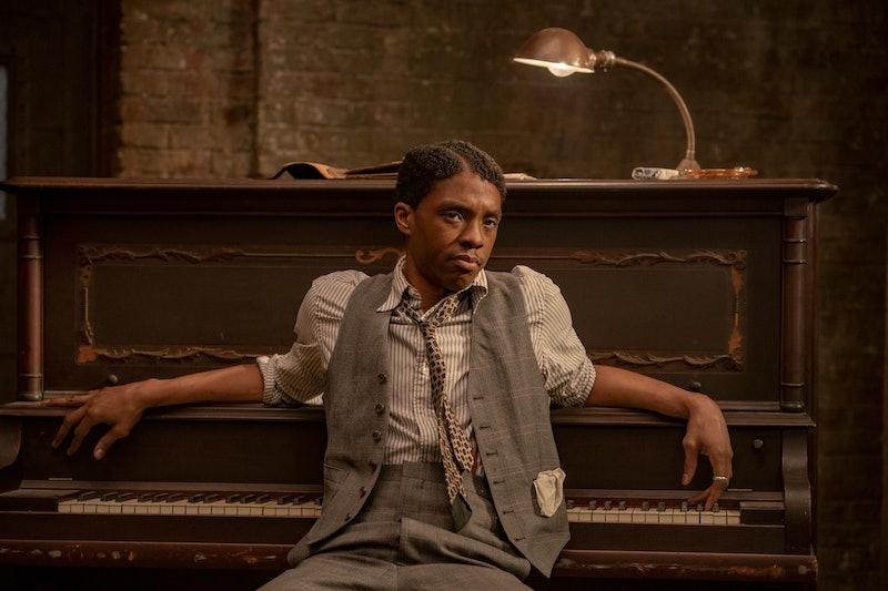 Chadwick Boseman in 'Ma Rainey's Black Bottom.' Photo via Netflix