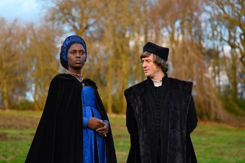 Jodie Turner-Smith as 'Anne Boleyn'