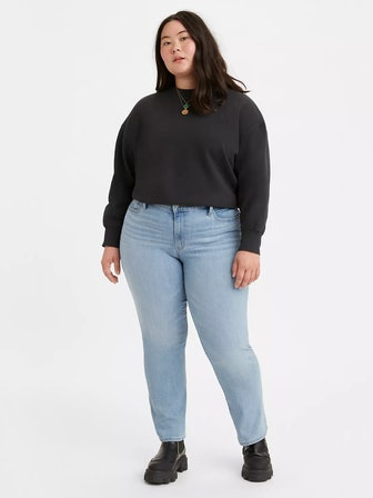 Classic Straight-Leg Jeans