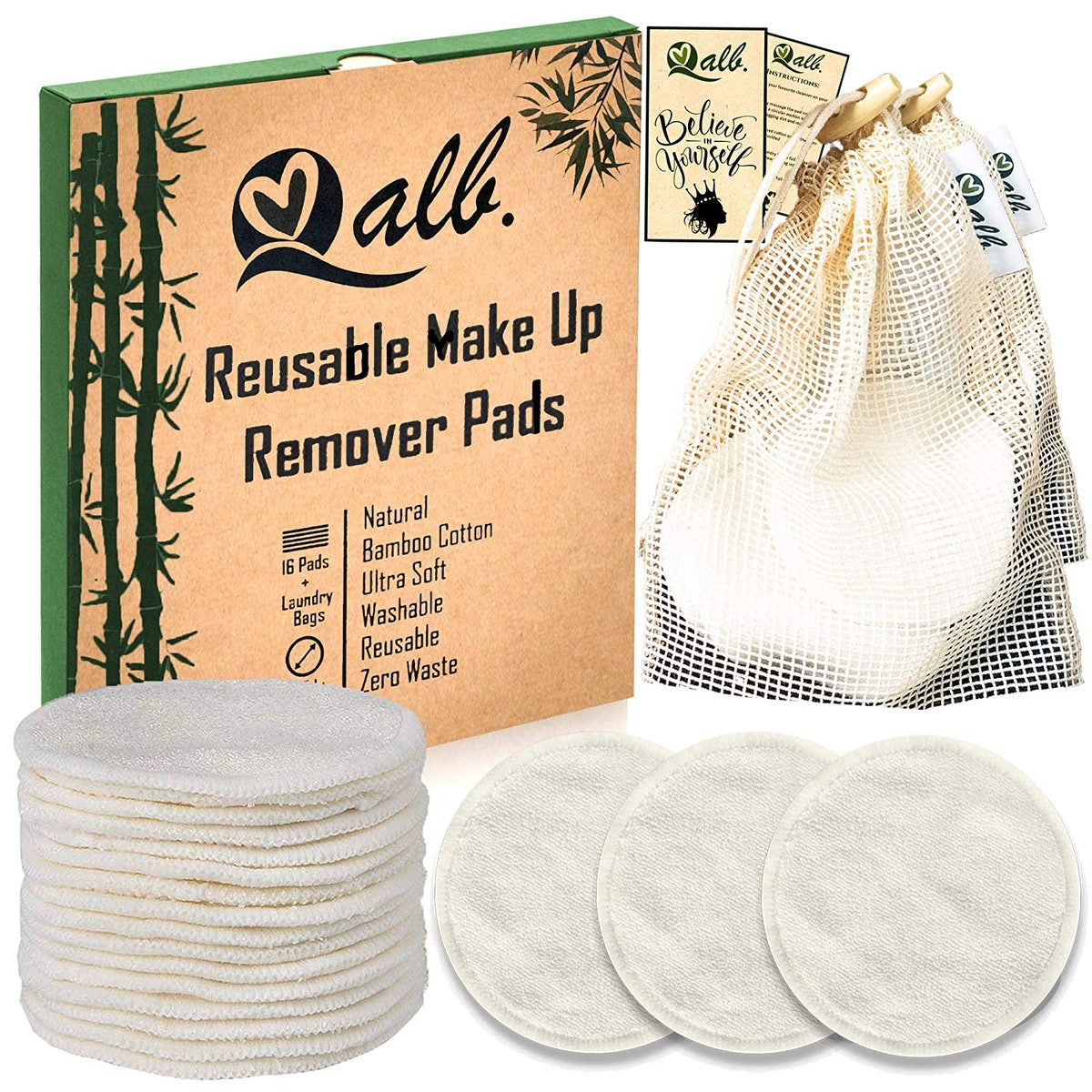 Qualb Resuable Makeup Remover Pads