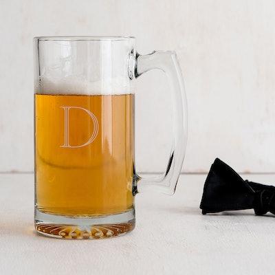 Custom Etched Beer Mug