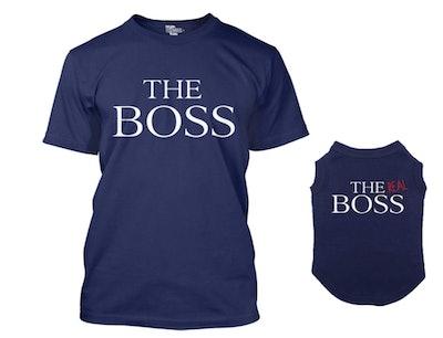 Matching Dog Shirt & Owner T-Shirt