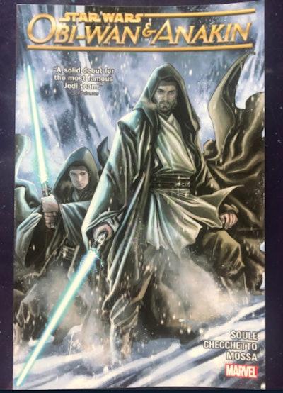 Obi Wan and Anekin Comic