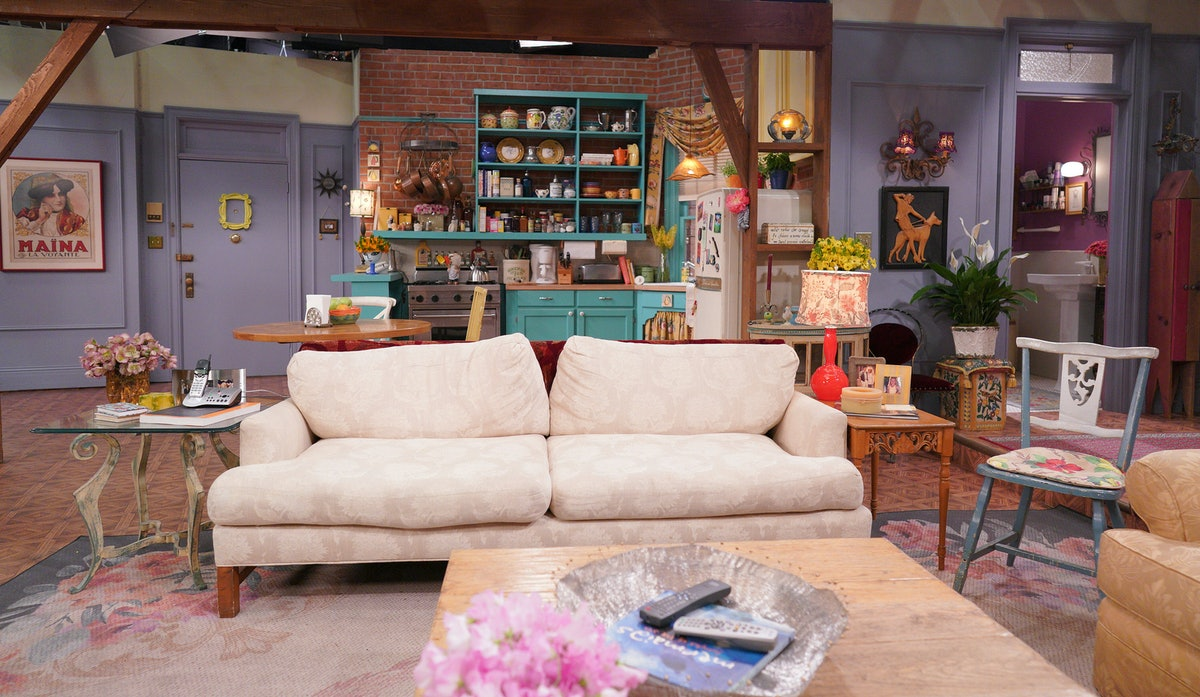 The set of the Friends reunion
