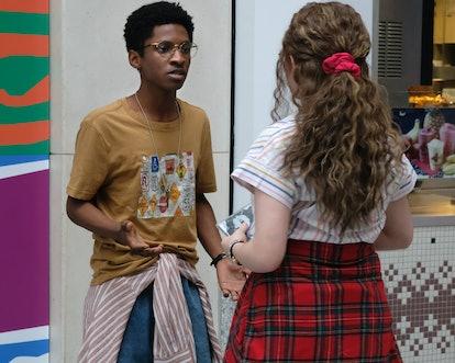 Allius Barnes as Vince and Chiara Aurelia as Jeanette Turner in 'Cruel Summer.'