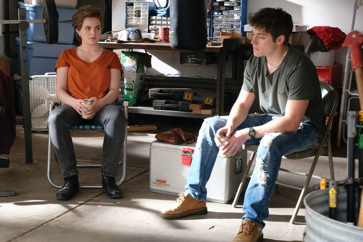 CHIARA AURELIA as Jeanette and FROY GUTIERREZ as Jamie in Freeform's 'Cruel Summer' also on Hulu