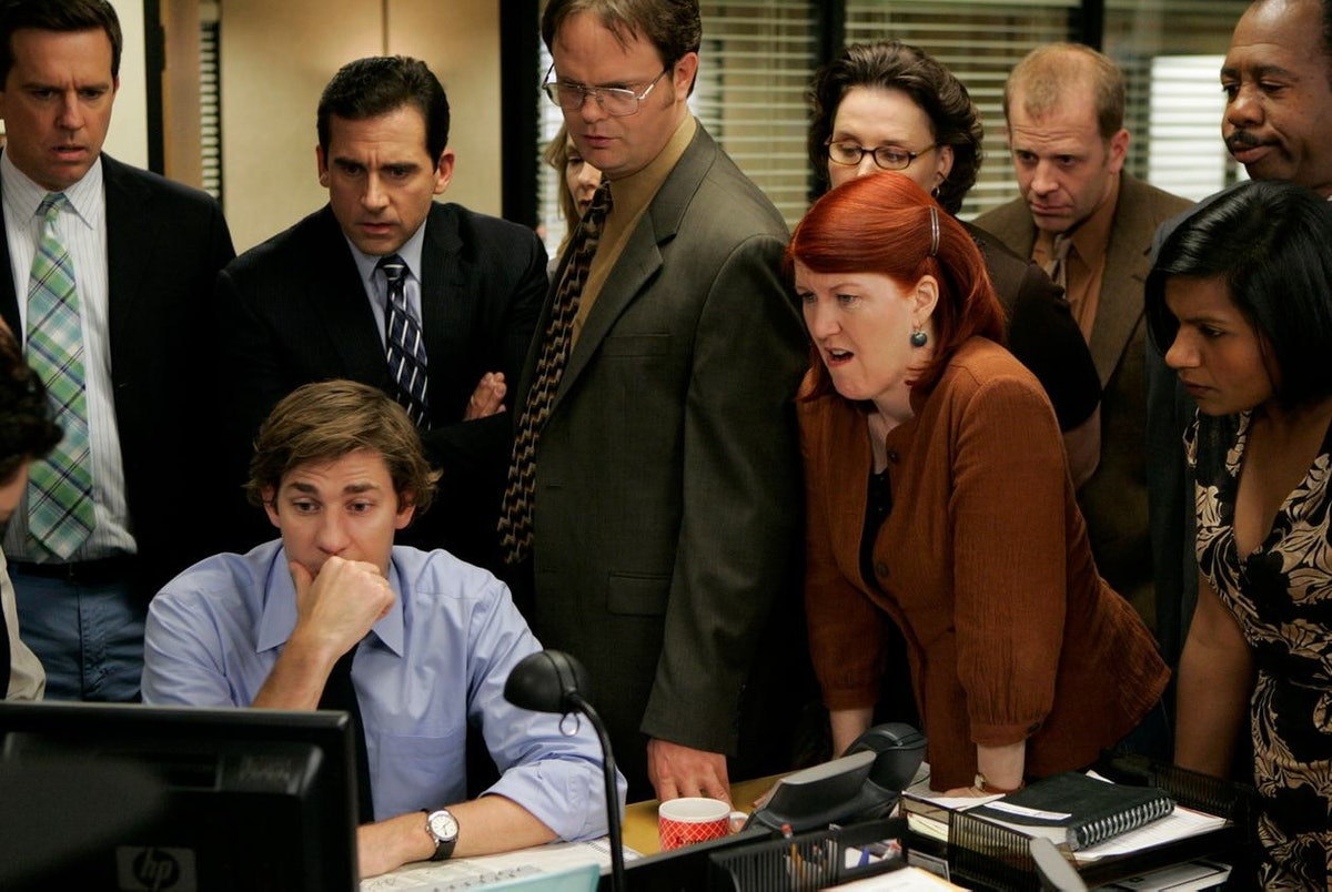 The cast of characters on 'The Office'