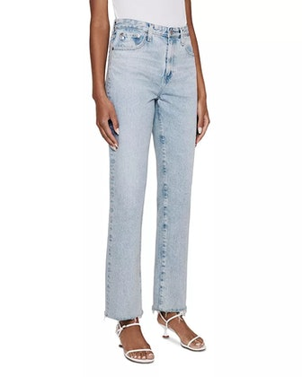 Alexxis Straight Leg Jeans in Fame