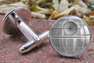 dlosiegranby Death Star Cufflinks