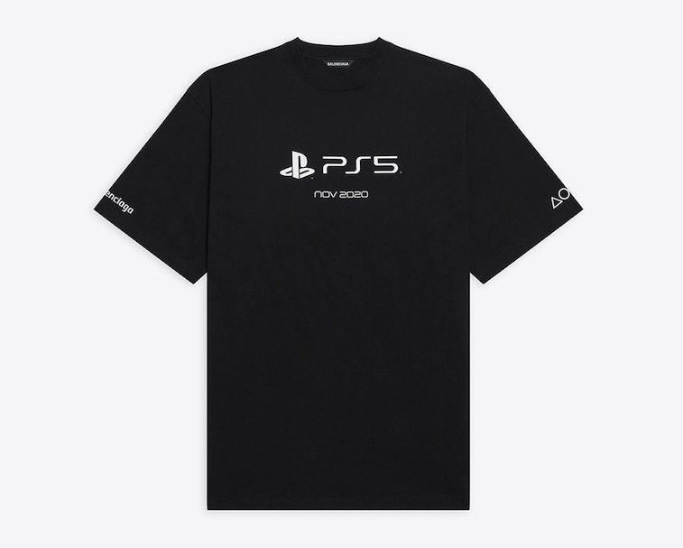 Balenciaga x Sony PlayStation 5 T-shirt