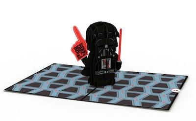 Darth Vader Best Dad 3D card
