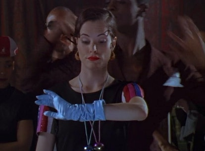 Parker Posey in Party Girl.
