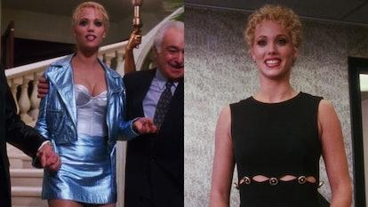 Versace looks in Showgirls.