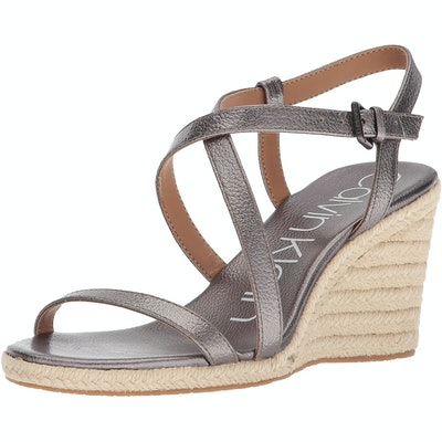 Calvin Klein Bellemine Espadrille Wedge Sandals