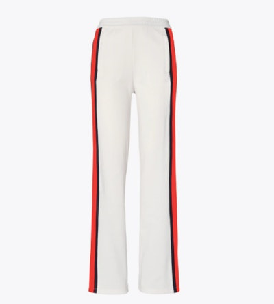 Tory Sport Classic Wide-Leg Track Pants