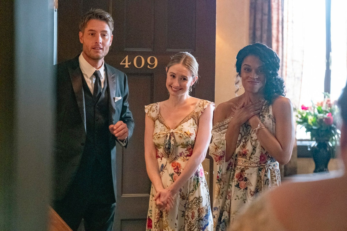 Justin Hartley as Kevin, Caitlin Thompson as Madison, Susan Kelechi Watson as Beth in 'This Is Us'
