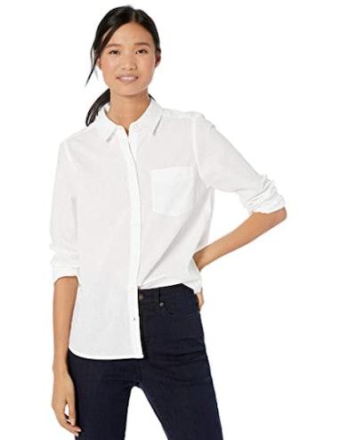 Goodthreads Washed Cotton Boyfriends Shirt