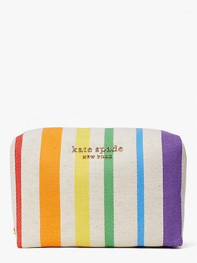 Rainbow Large Cosmetic Case