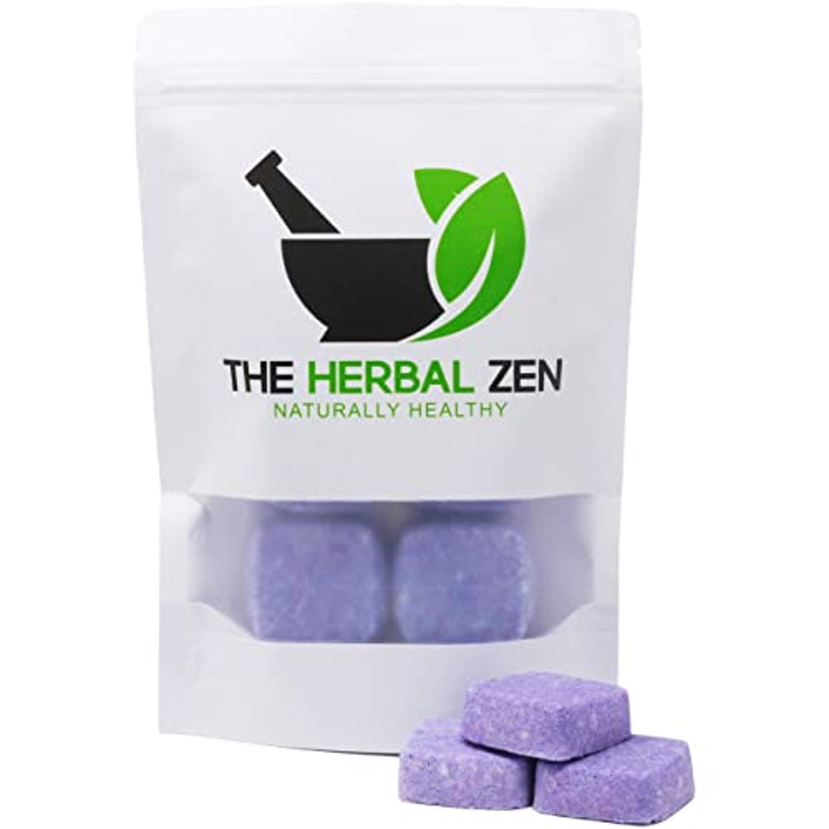 The Herbal Zen Sleepytime Shower Steamers with Lavender and Roman Chamomile