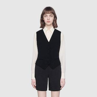 Cady Viscose Formal Vest