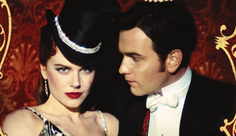 Nicole Kidman and Ewan McGregor as Satine and Christian in Moulin Rouge.