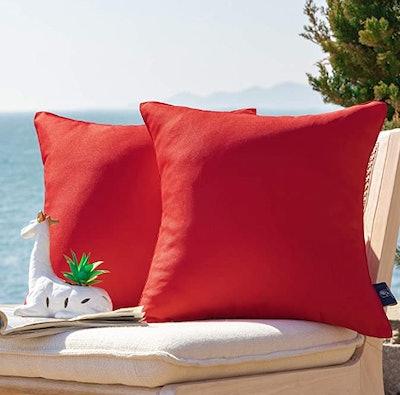 Phantoscope Decorative Throw Pillow Covers (2-Pack)