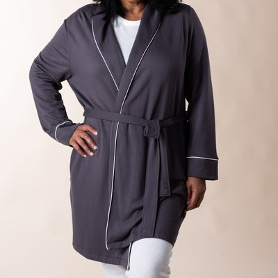 Charcoal Piper Robe