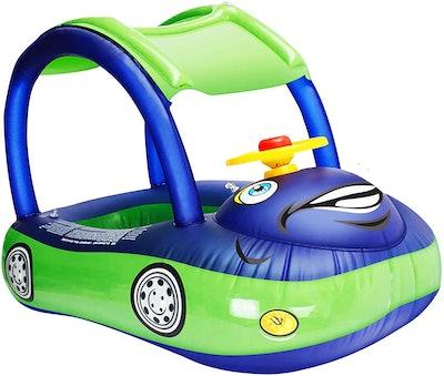 iGeeKid Baby Inflatable Pool Float