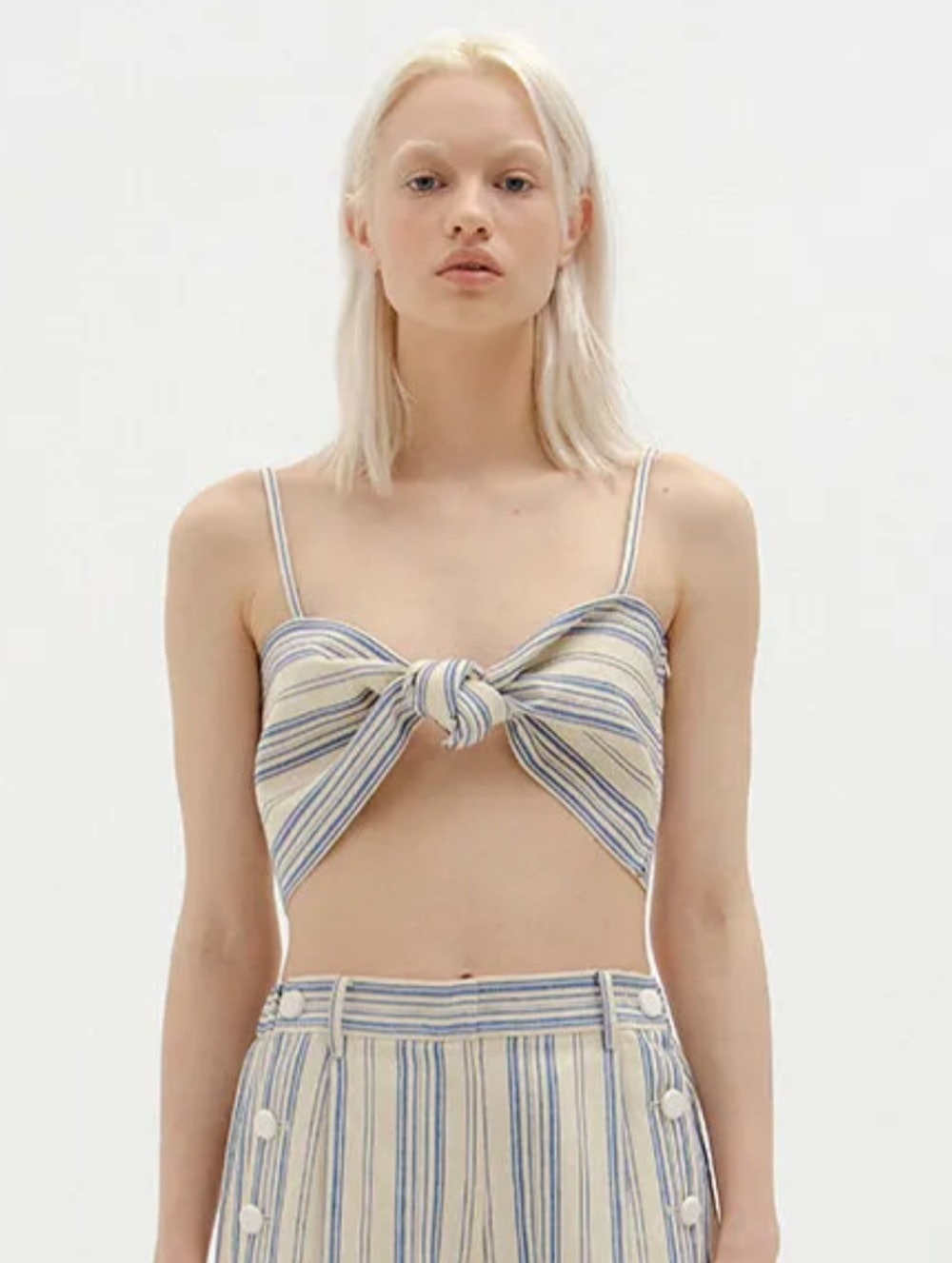 Sia Knotted Bra Top