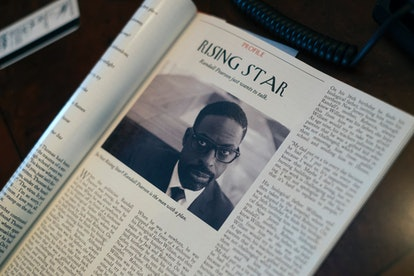 Sterling K. Brown as Randall in The New Yorker in 'This Is Us'