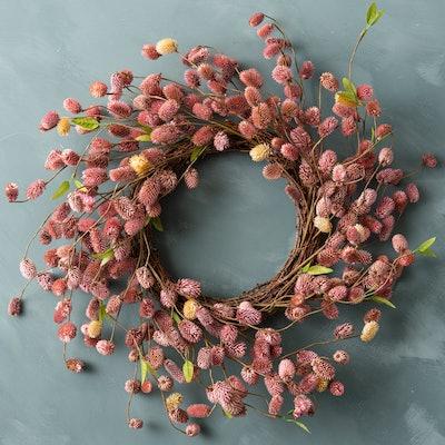 Dried Natural Platycarya Wreath