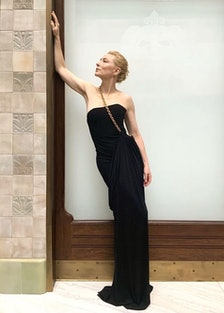 Cate blanchett in black dress
