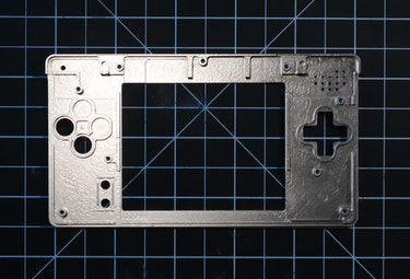 Game Boy Macro review: The inside of the Boxy Pixel shell.