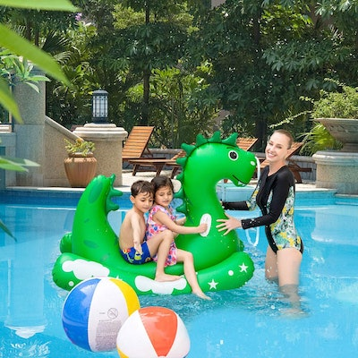 Yafeite Inflatable Pool Float for Kids Adults