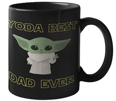 Yoda Best Dad Ever Mug
