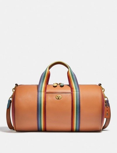 Duffle with Rainbow Quilting
