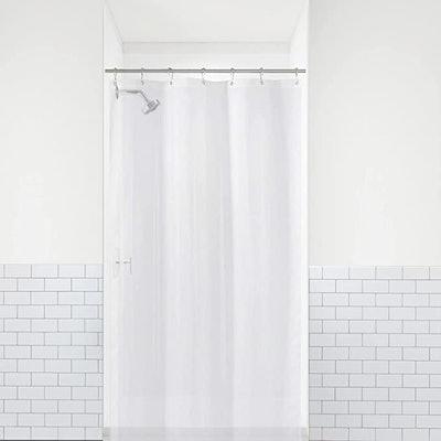 LiBa PEVA Bathroom Small Shower Stall Curtain