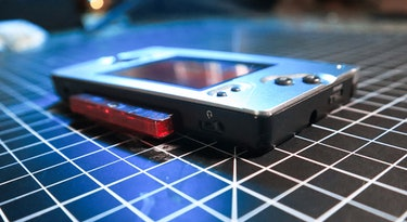 Game Boy Macro review: Don't worry, the 3.5mm headphone jack works perfectly.