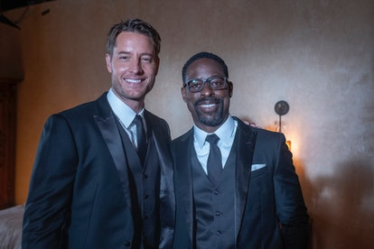 Justin Hartley as Kevin, Sterling K. Brown as Randall in 'This Is Us'