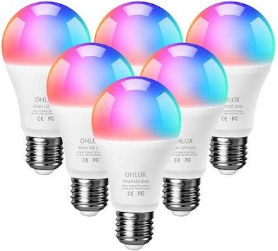 OHLUX Smart WiFi LED Light Bulbs