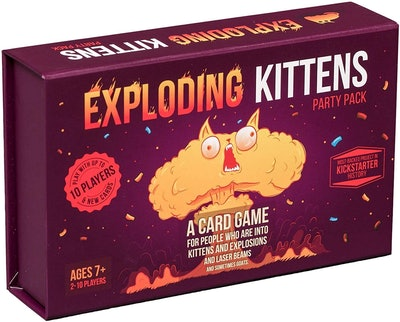 Exploding Kittens Party Card Game