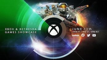 Xbox & Bethesda Showcase Start time 1 p.m. Eastern