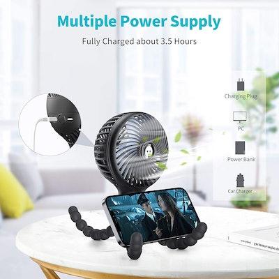 SmartDevil Mini Flexible Tripod Fan