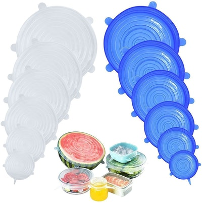 DigHealth Silicone Stretch Lids (12-Pack)